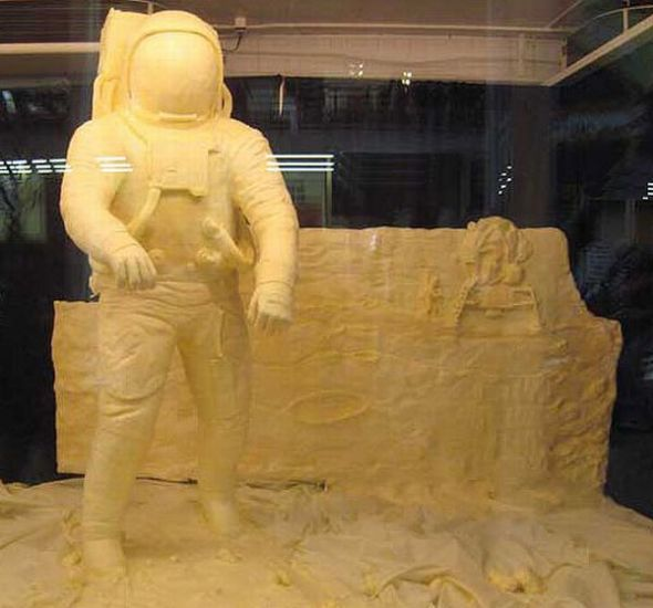 16 awesome Butter sculptures