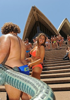 Word's Largest Swimwear Parade (Sydney Australia)