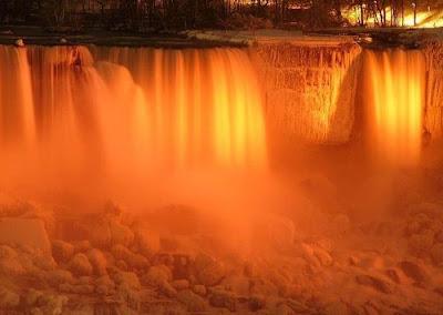 niagra falls winter