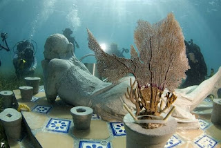 World's largest underwater museum in Mexico