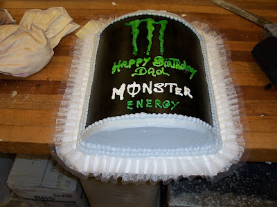 Franks Bakery Monster Energy Drink Cake