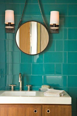 Turquoise Tiles  Byzantine Design