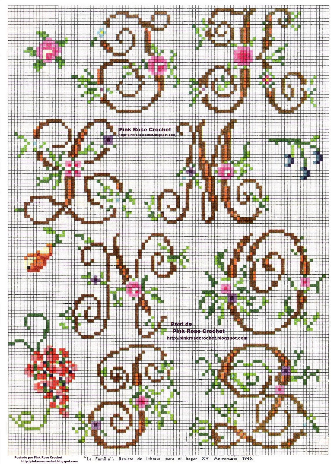 Embroidery Alphabet Designs To Download