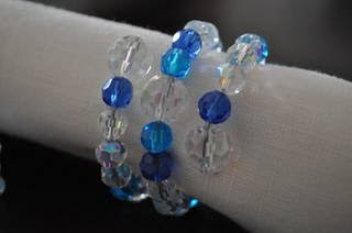 Glass Beaded Napkin Rings