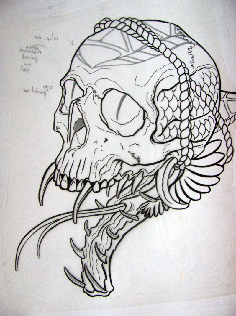 Tattoo Union: Best of 2010 Sketchbook
