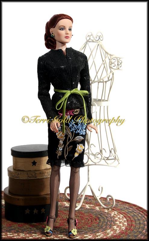 "DOLL belt CREME heart Rhinestone Custom made for Cissy Revlon /& 18/""-20/"" dolls"