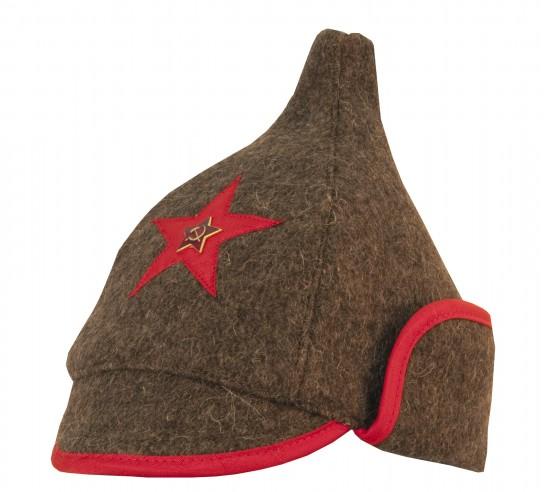 La будёновка (Budiónafka) fue la gorra de los soldados del Ejercito rojo  durante las primeras decadas de existencia de la URSS y formo parte del  nuevo ... ec3ed1b96f6