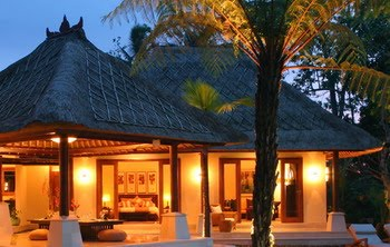 Tropical Bali Architecture Alang Alang Grass