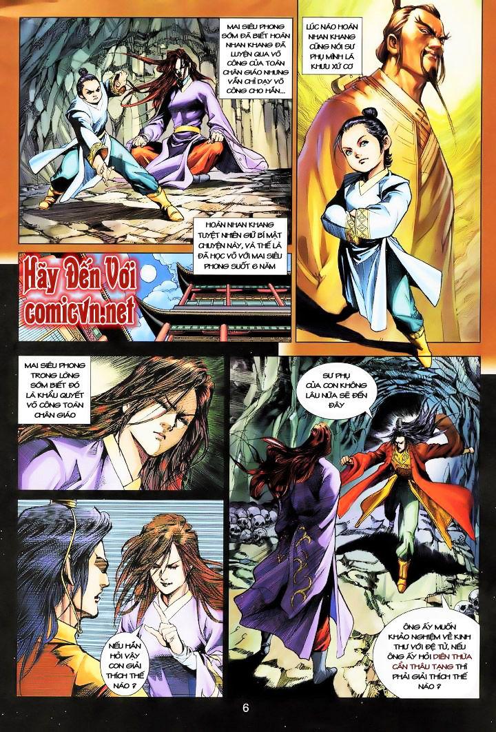 Anh Hùng Xạ Điêu anh hùng xạ đêu chap 16 trang 5