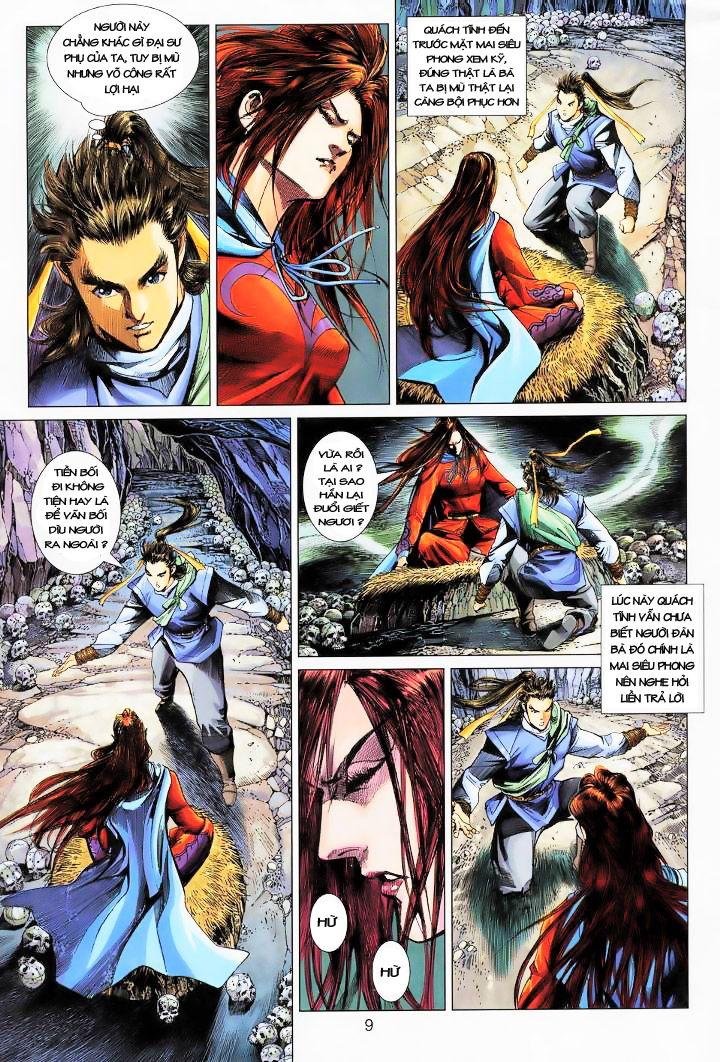 Anh Hùng Xạ Điêu anh hùng xạ đêu chap 16 trang 8