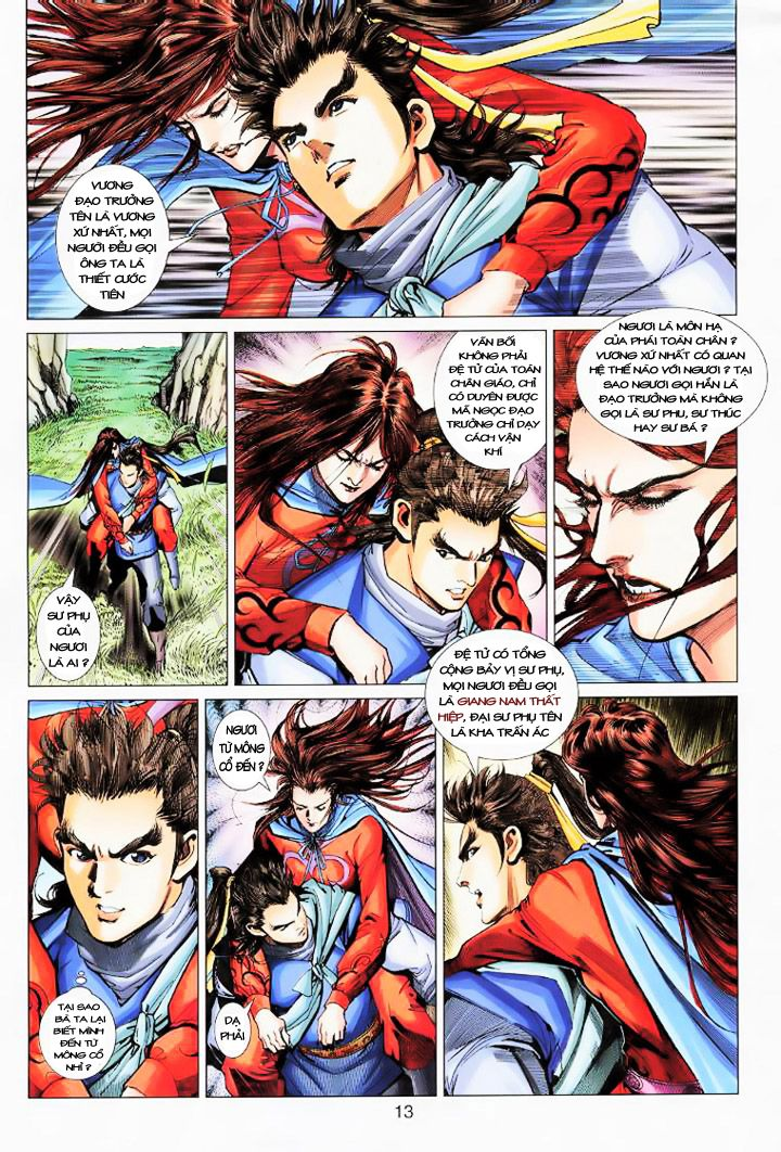 Anh Hùng Xạ Điêu anh hùng xạ đêu chap 16 trang 12