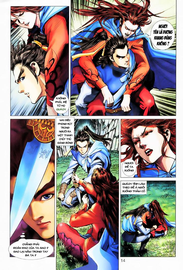 Anh Hùng Xạ Điêu anh hùng xạ đêu chap 16 trang 13