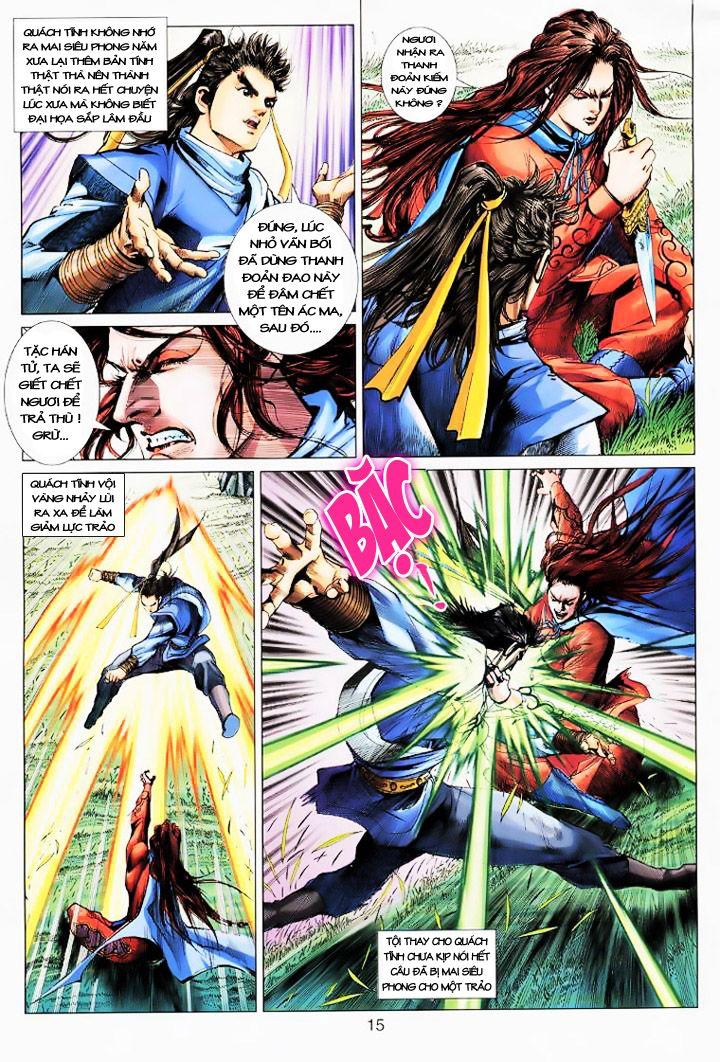 Anh Hùng Xạ Điêu anh hùng xạ đêu chap 16 trang 14