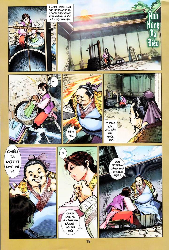 Anh Hùng Xạ Điêu anh hùng xạ đêu chap 16 trang 18