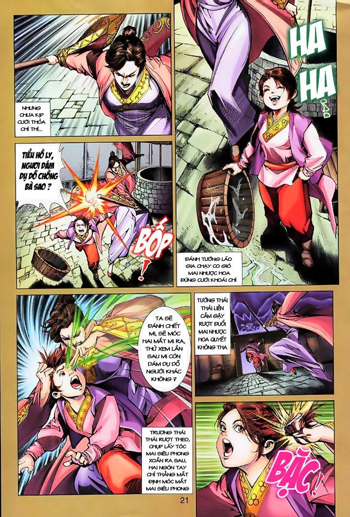 Anh Hùng Xạ Điêu anh hùng xạ đêu chap 16 trang 20
