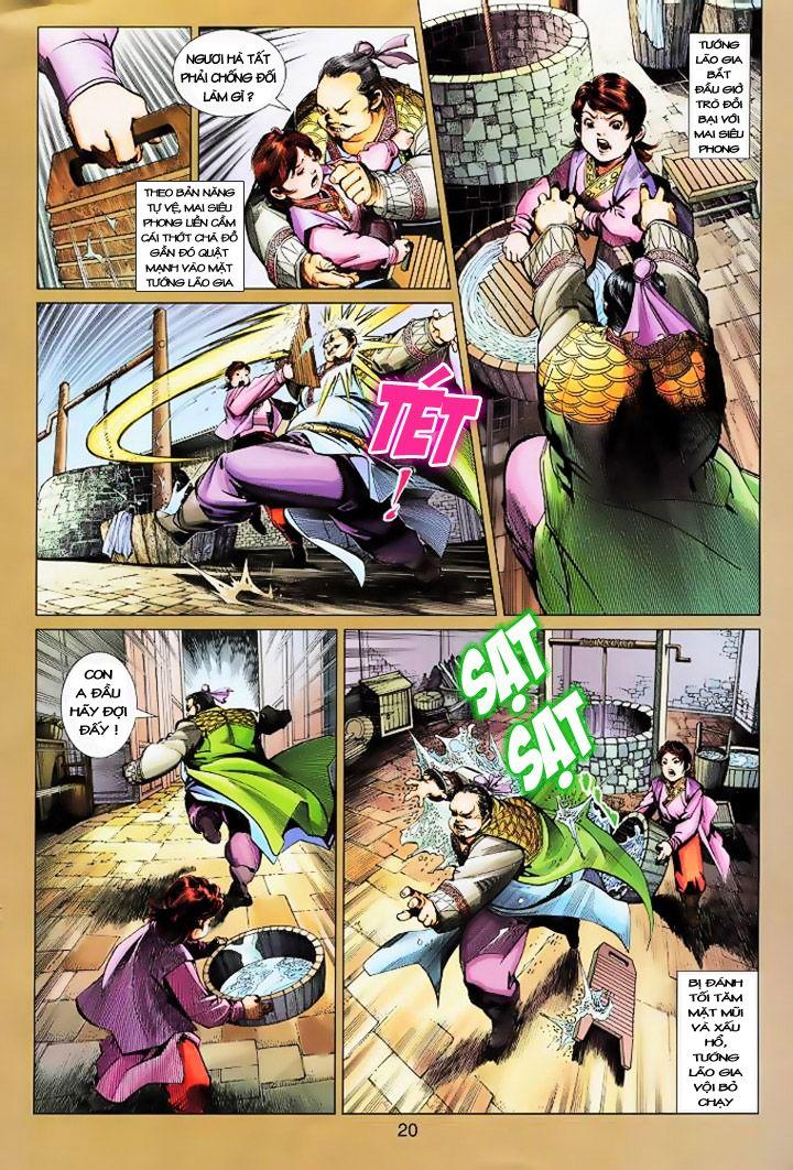 Anh Hùng Xạ Điêu anh hùng xạ đêu chap 16 trang 19