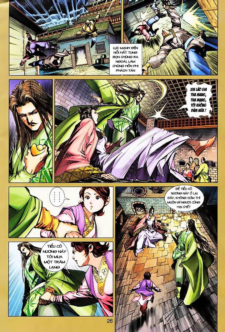 Anh Hùng Xạ Điêu anh hùng xạ đêu chap 16 trang 25
