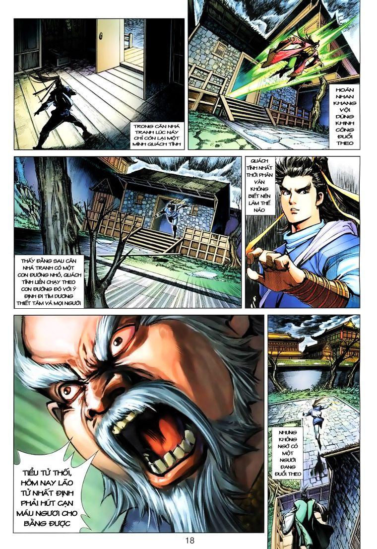 Anh Hùng Xạ Điêu anh hùng xạ đêu chap 15 trang 17