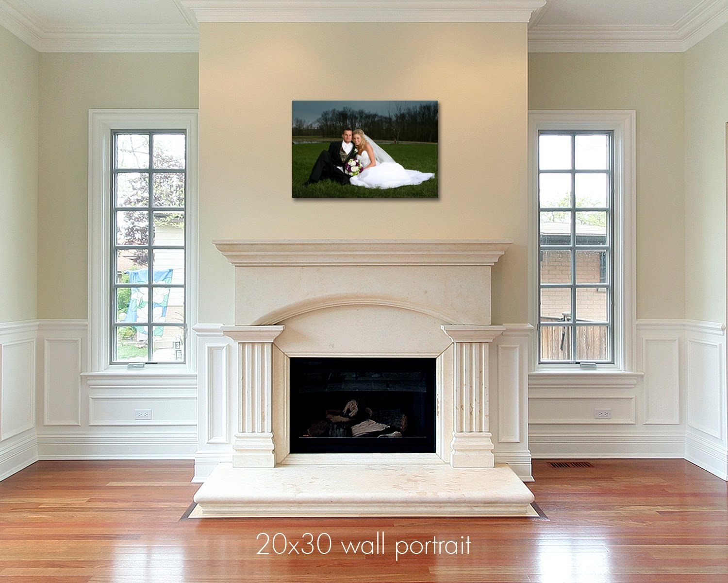 Larissa Photography Wall Portrait Samples For Amber - Rahmen 20x30