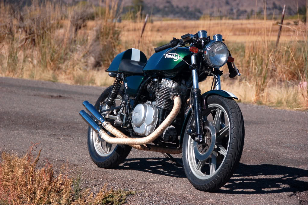 xs400 cafe racer ~ return of the cafe racers