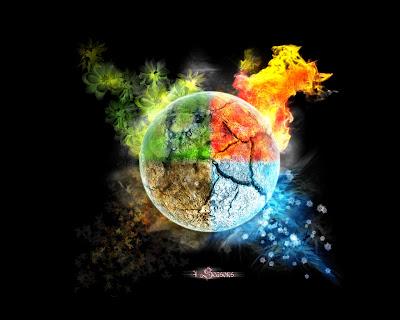 Resultado de imagem para water fire air earth