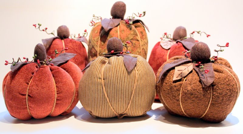 Fall Fabric Pumpkin Tutorial The Cottage Mama