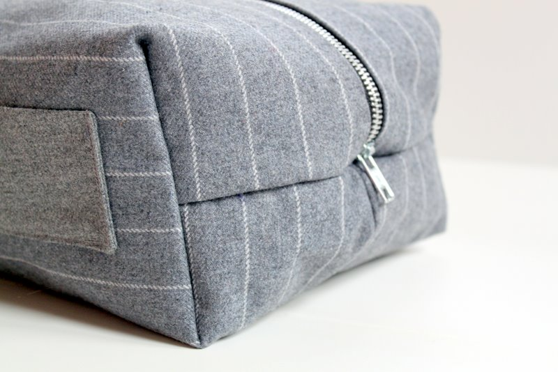 This Dopp kit could be made in many different fabrics. If you decide to use  a more basic cotton 7c210b5149f0c