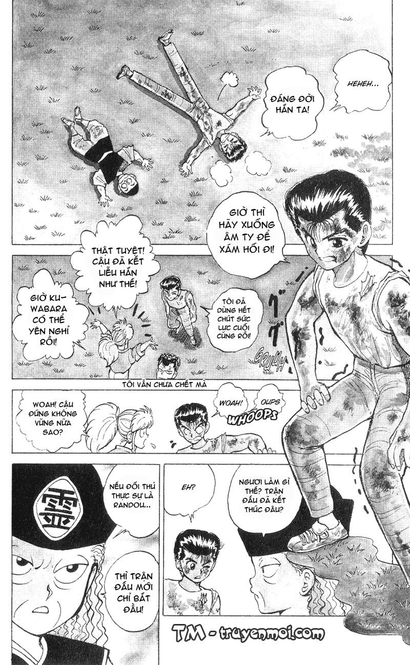 Hành trình của Uduchi chap 031: cú đấm phẫn nộ trang 11