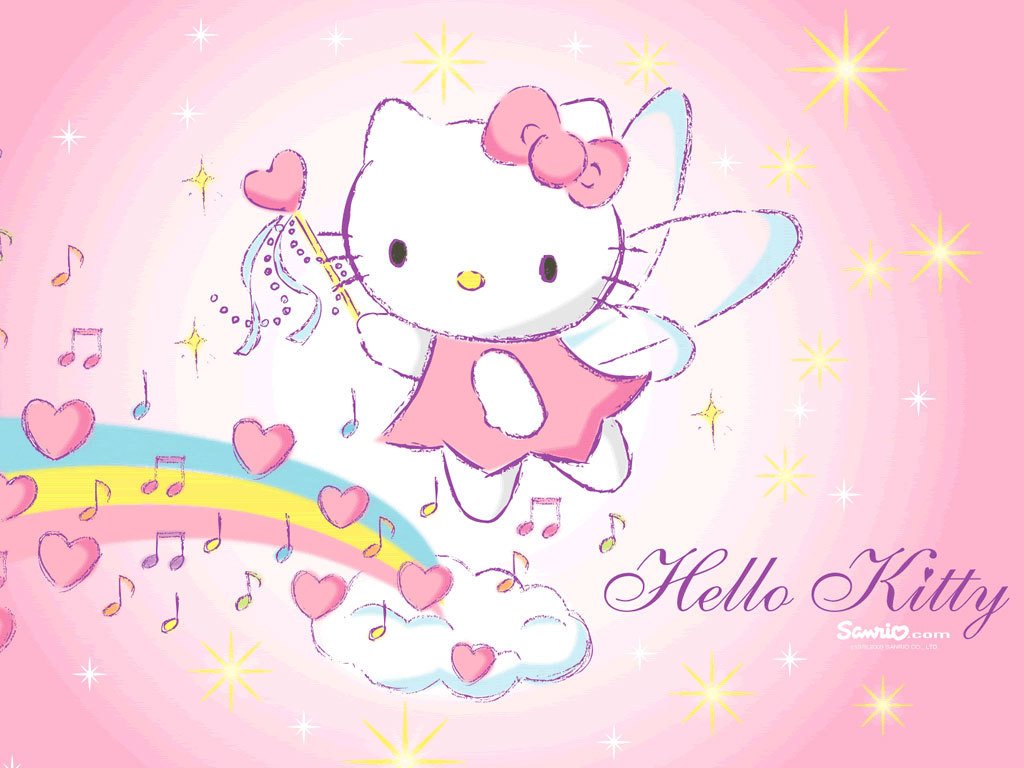 Hewan Lucu 2016 Animasi Bergerak Hello Kitty Untuk Powerpoint Images