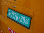 [2008] West Bank License Plate
