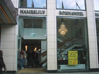 Hamrelius Bokhandel bookstore Malmö