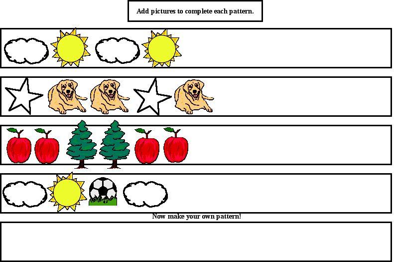 Kindergarten Math Patterns Â« Design Patterns