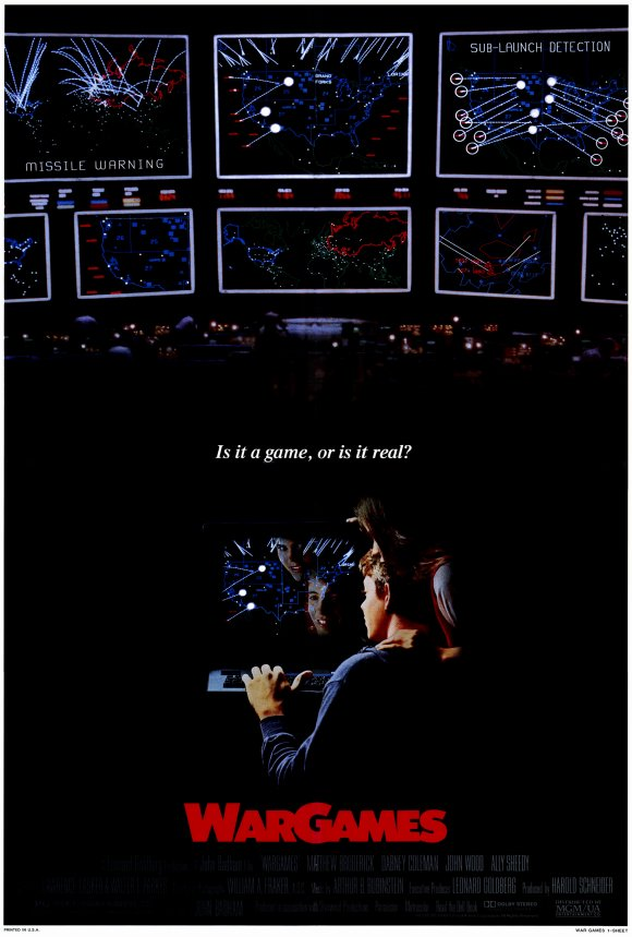 Popsiculture 80s Movies Wargames 1983