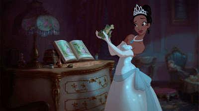 The Princess and The Frog Animated Movie