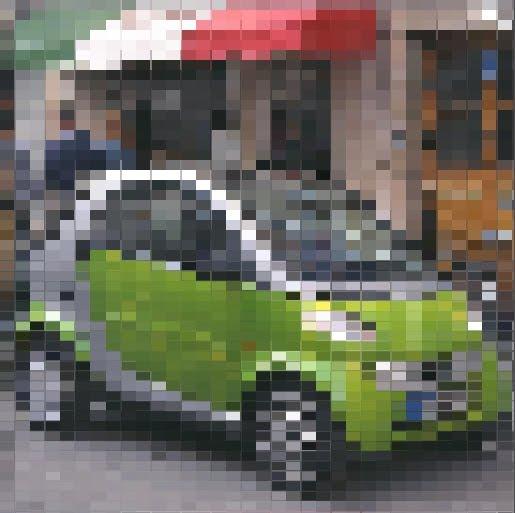Agnius Vasiliauskas Coding Sandbox: Pixelation Pixel Shader