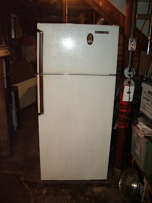 Convert Old Full Size Refrigerator For Lagering
