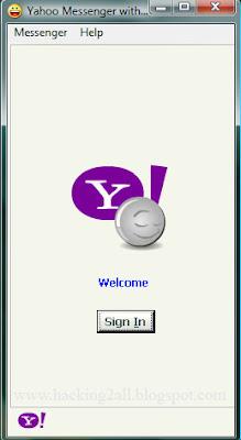 Free hacks online: yahoo messenger password hack v2. 1 [update 2013].