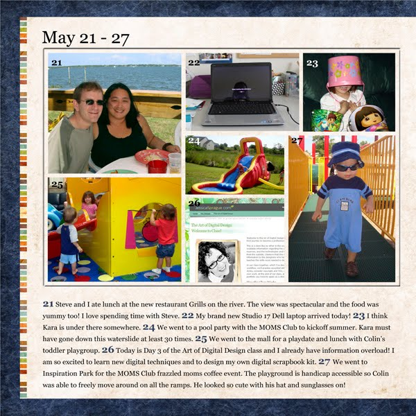 Project 365 Layout by Simply Kelly Designs #Project365 #digiscrap