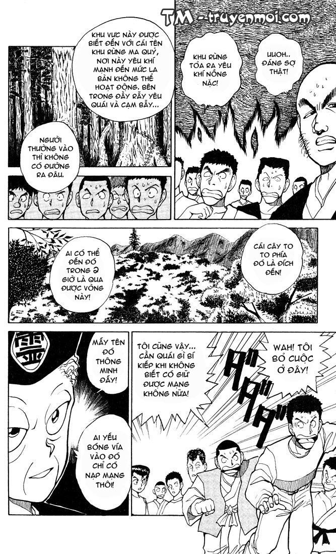 Hành trình của Uduchi chap 026: khu rừng ma quỷ trang 10