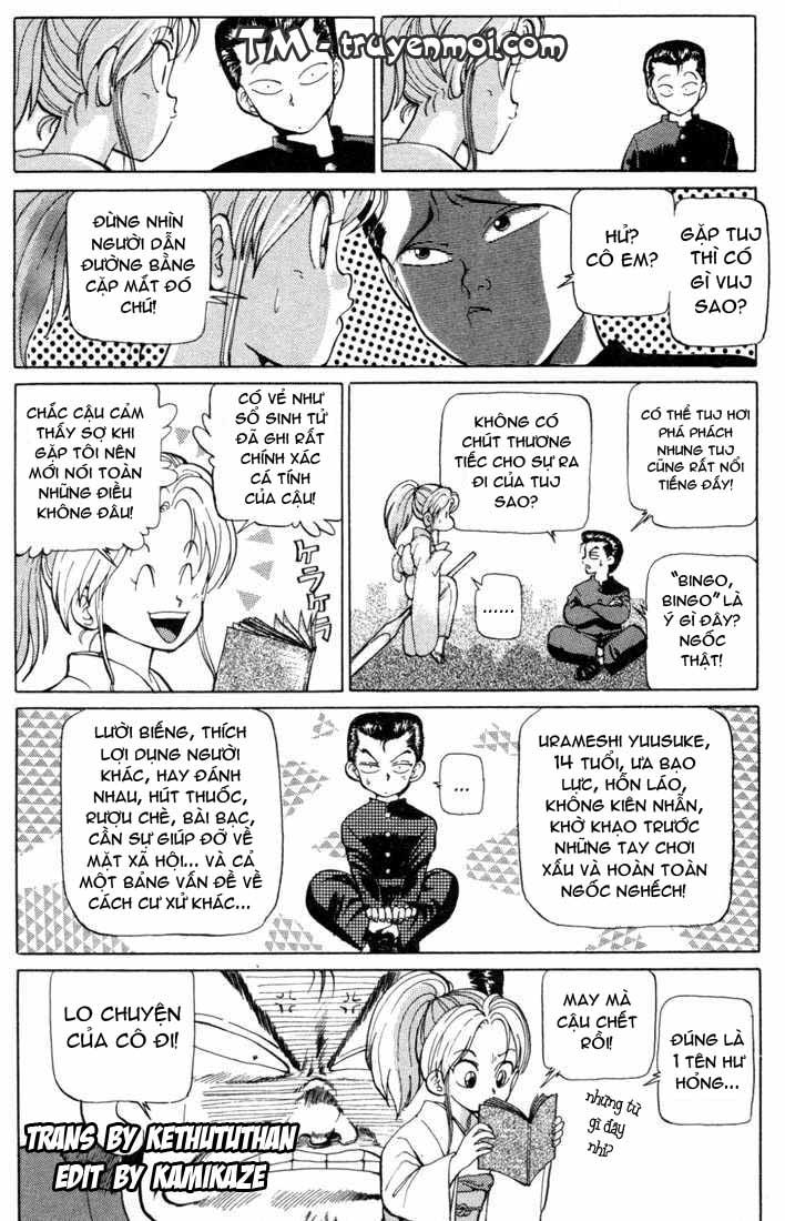 Hành trình của Uduchi chap 001b: khởi đầu từ cái chết trang 9