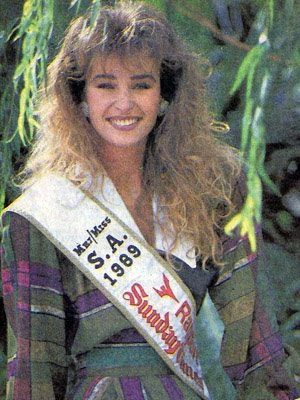 Miss Universe 2011 Miss South Africa 1989