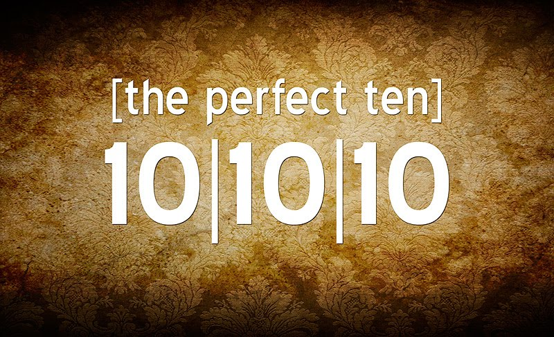 The Perfect 10 of the date