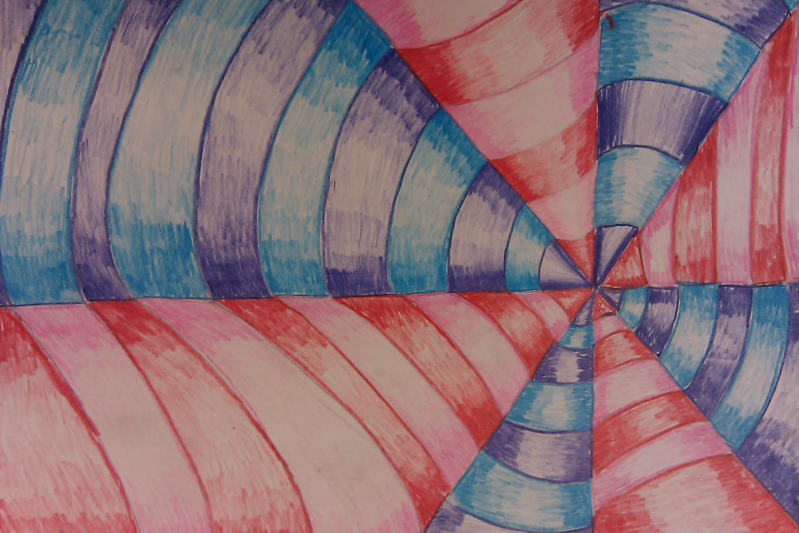 Draws Attention Op Art Learning Colors