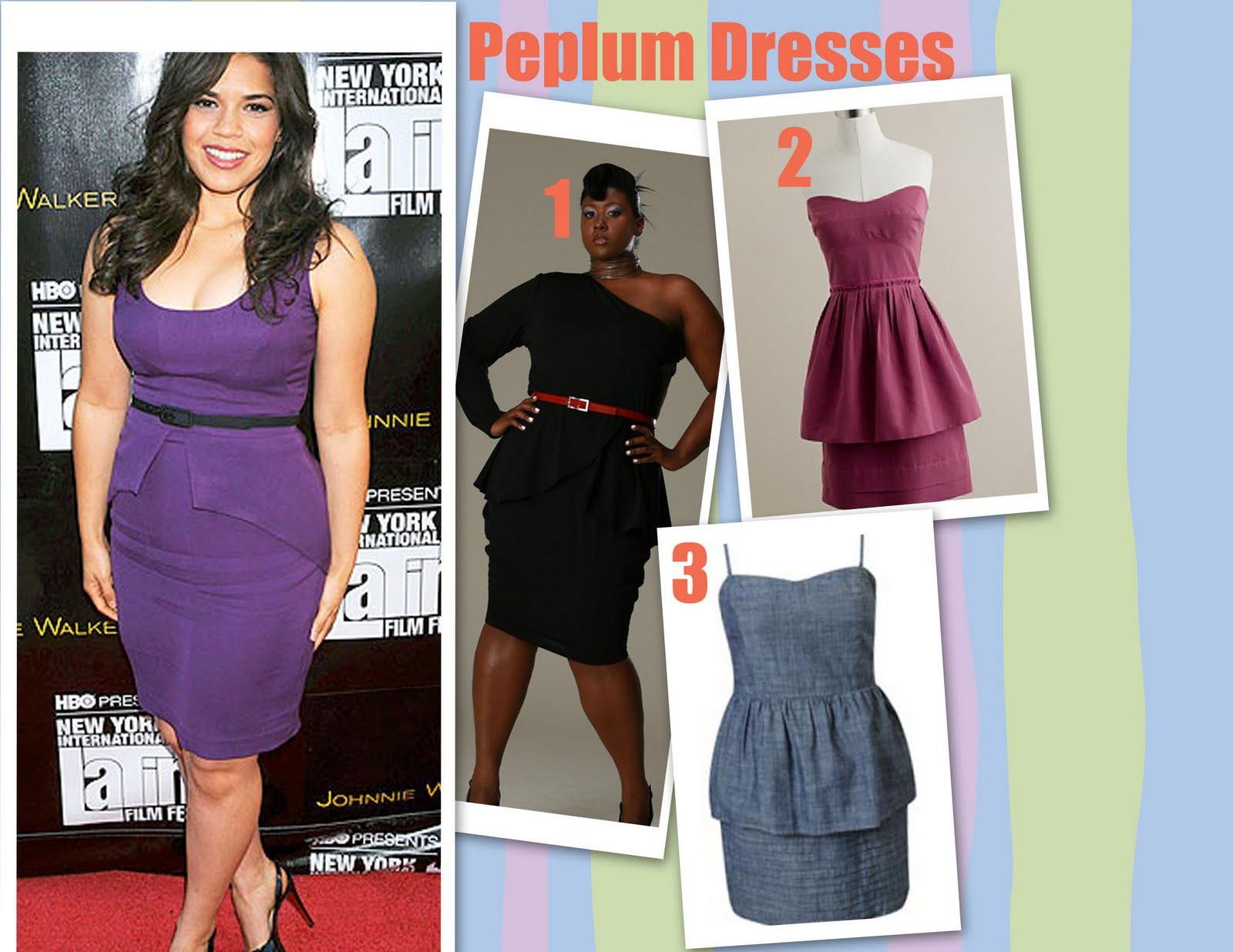 peplum dresses for the curvy girl stylish curves