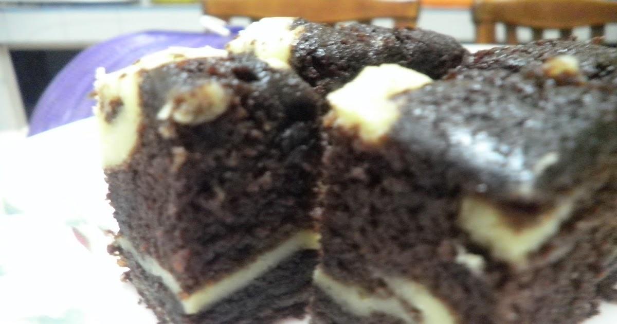Kek Coklat & Cream Cheese