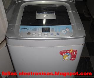 lavadora LG bota agua por abajo