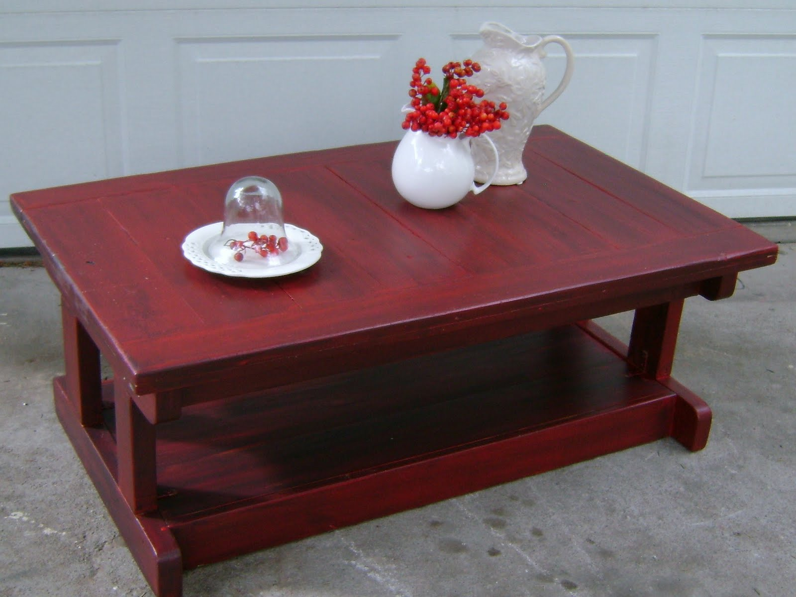 Couchtisch Rot Red Coffee Table