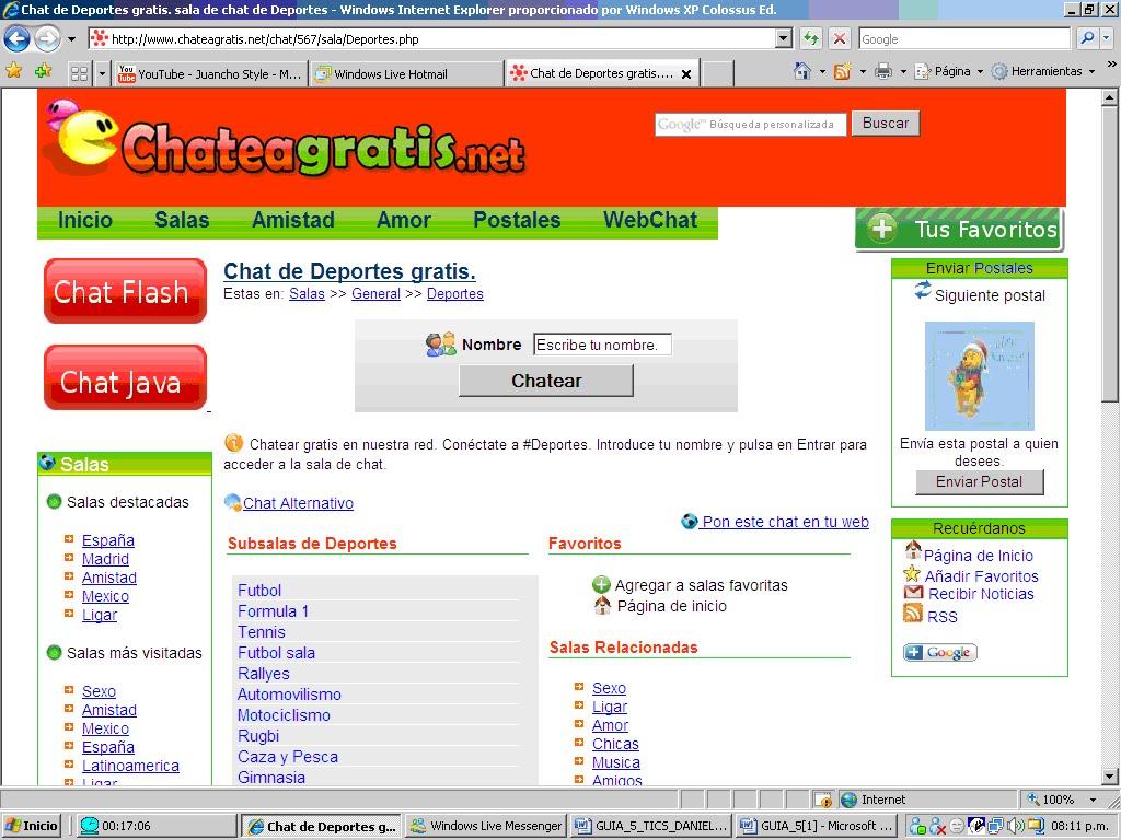 ChateaGratis.net Nos invade