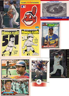 Indians Baseball Cards Bo Knows Tribe Cards