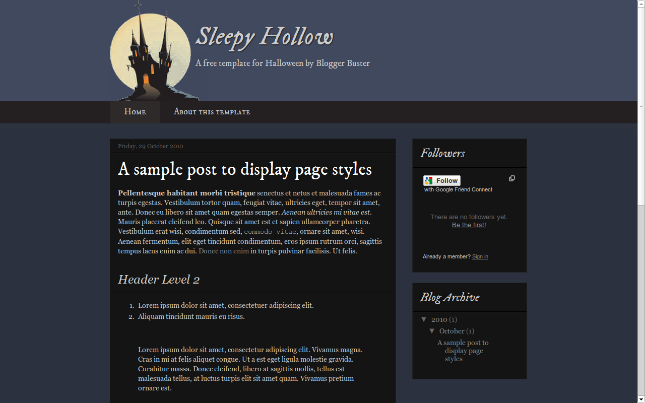 How To Install This Blogger Template